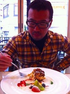 ★優雅に高級カフェでドルチェ&カフェを楽しむ、完全デートですやん(笑)
